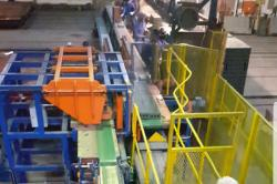 Automated forming of the bricks